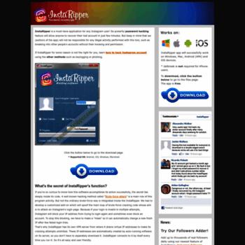 instaripper com at WI  InstaRipper Tool - Hack Any Instagram Account!