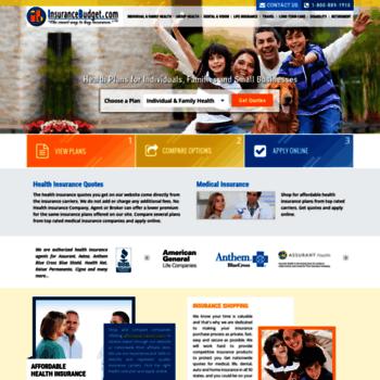 Insurancebudget.com thumbnail