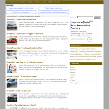 Insuranceway.us thumbnail