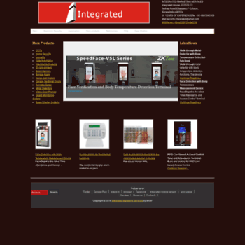 Integratedsecurity.in thumbnail