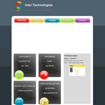 Inter-technologies.net thumbnail