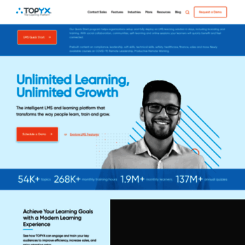 Interactyx Com At Wi Online Learning Platform Topyx Learning