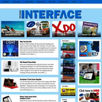 Interfacemagazine.co.nz thumbnail