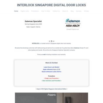 Interlock.com.sg thumbnail