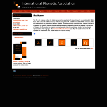 Internationalphoneticassociation.org thumbnail