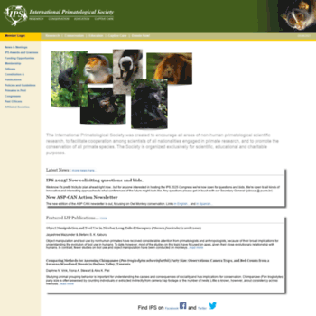Internationalprimatologicalsociety.org thumbnail
