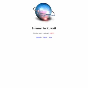 Internetinkuwait.net thumbnail
