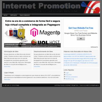 Internetpromotion.com.br thumbnail