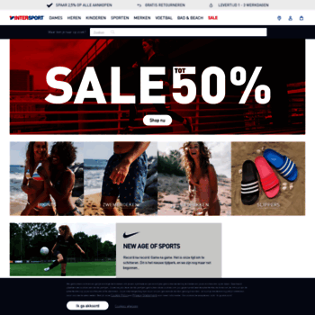 save off f978f 12a45 INTERSPORT webshop – Voetbal – Tennis – Fitness – Hockey – Hardlopen. Visit  intersport.nl. Overal rating  Intersport.nl thumbnail