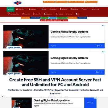 interssh com at WI  Create SSH VPN Account Premium: interssh com