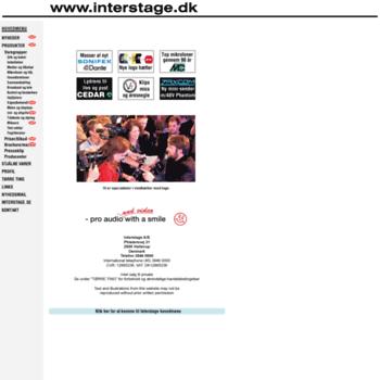 Interstage.dk thumbnail