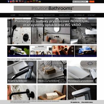 Intuitionbathrooms.pl thumbnail