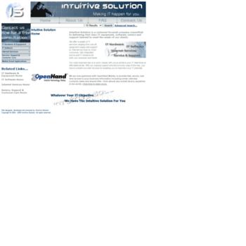 Intuitivesolution.net thumbnail