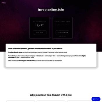 Investonline.info thumbnail