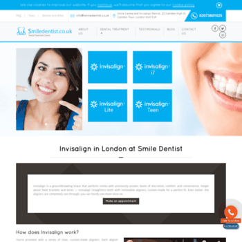 Invisalign-london.co.uk thumbnail