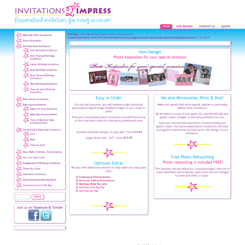 Invitations2impress.com thumbnail