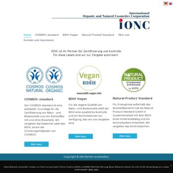 Ionc.info thumbnail