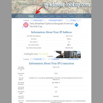 Ip-address-lookup.com thumbnail