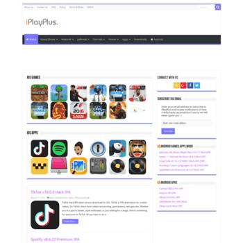 iplayplus com at WI  iPlay+   Best iOS Games,iOS Apps IPA
