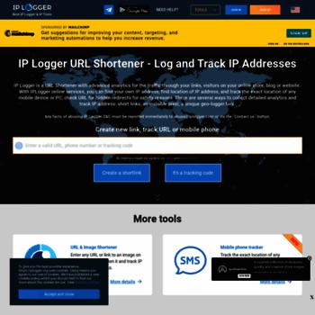 iplogger com at WI  IP Logger URL Shortener - Log and Track