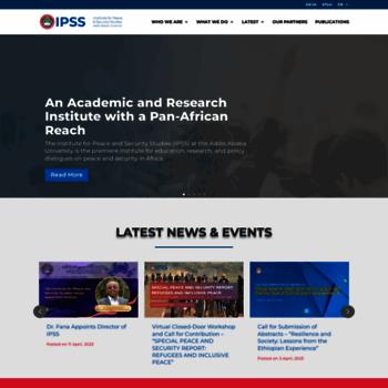 Ipss-addis.org thumbnail
