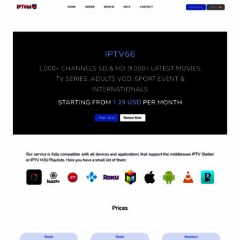 iptv66 tv at WI  IPTV 66 - IPTV Private Server, MAG250