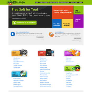 iqmango com at WI  IQmango - best free software downloads for you