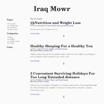 Iraq-mowr.org thumbnail