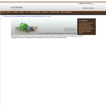 irdabap org in at WI  SAP NetWeaver Portal