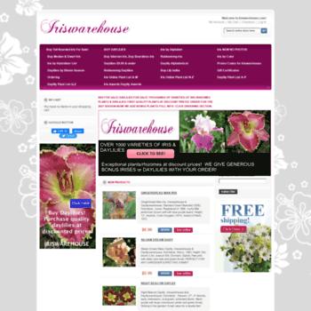 Iriswarehouse.com thumbnail