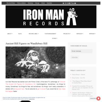 Ironmanrecords.net thumbnail