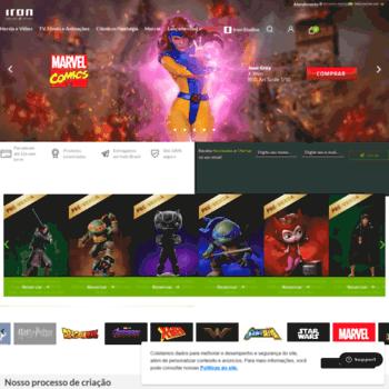 Ironstudios.com.br thumbnail