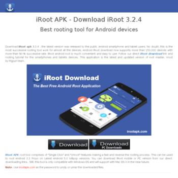 irootapk com at WI  iRoot apk - Download iRoot 3 2 4 Latest