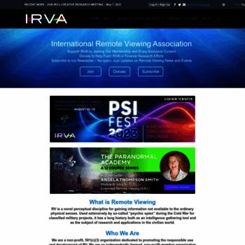 Irva.org thumbnail