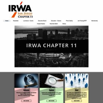 Irwa11.org thumbnail