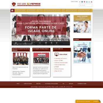 Iseade.edu.sv thumbnail