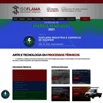 Isoflama.com.br thumbnail