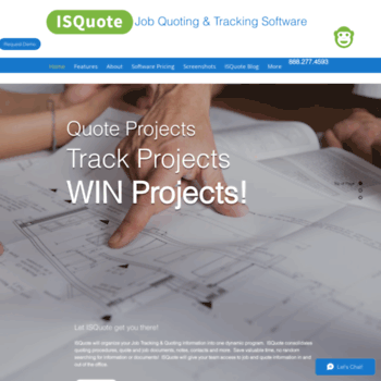 isquote com at WI  ISQuote Job Tracking & Quoting Software