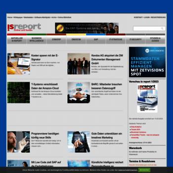 Isreport.de thumbnail