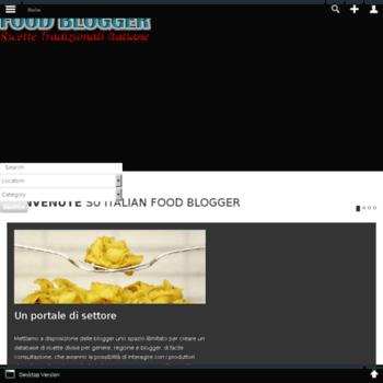 Italianfoodblogger.it thumbnail