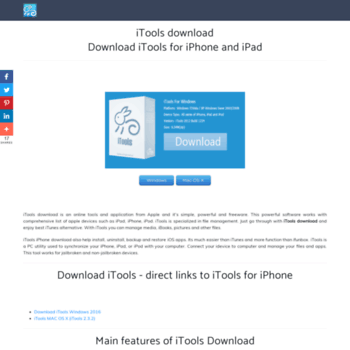 itoolsdownload us at WI  iTools download - Download iTools for