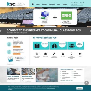 Itsc.cuhk.edu.hk thumbnail