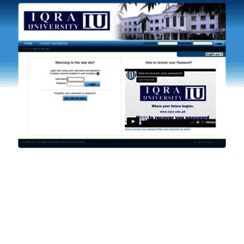 Iulms.edu.pk thumbnail