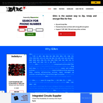 izarc org at WI  IZArc | Free Zip/Unzip Files Utility