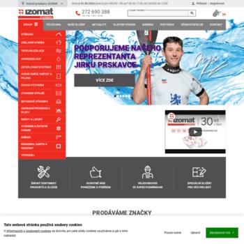 Izomat.cz thumbnail