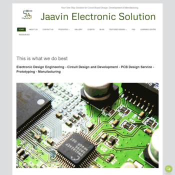 jaavin com at WI  Jaavin Electronic Solution: PCB Design Service