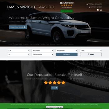 Jameswrightcars.co.uk thumbnail