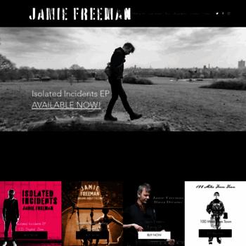 Jamiefreeman.co.uk thumbnail