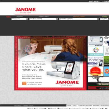 Janome.ca thumbnail