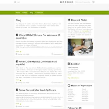 Веб сайт jasonlausen.doodlekit.com